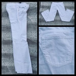 White FOSSIL Flare Jeans new condition.